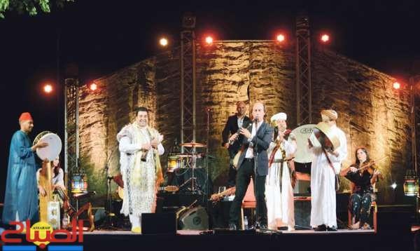 كوكتيل موسيقي مغربي إسباني بجنان السبيل