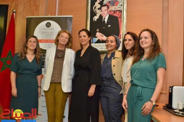 مراكش تستقبل قائدات العالم