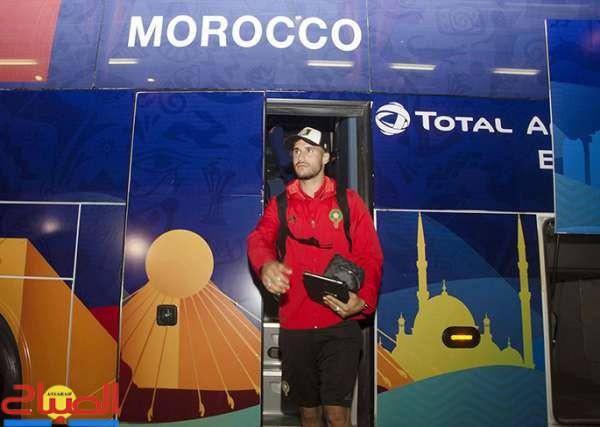 المنتخب الوطني يجري أول حصة تدريبية له بالقاهرة