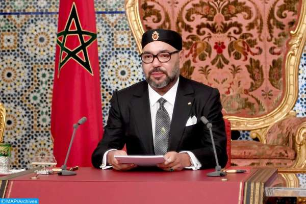 الملك يوجه خطابا ساميا بمناسبة ثورة الملك والشعب