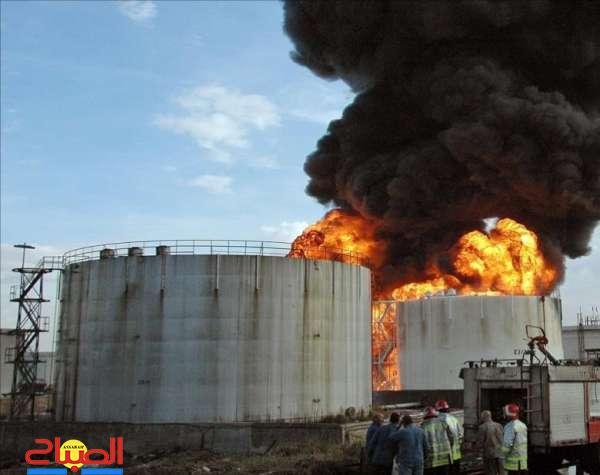 هجوم حوثي يتسبب في اندلاع حريق في منشأة نفطية سعودية
