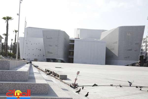 مسرح البيضاء ... المبني للمجهول