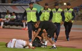 الأسود متذمرون من ملعب مراكش