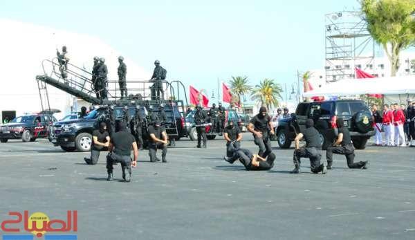 حمدوشي يُبعث بمعرض الأمن